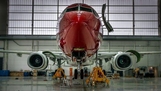 Timelapse: Motorbytte Boeing 787-8 Dreamliner