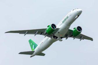 Widerøes nye jetfly