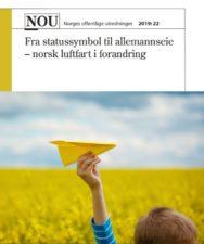 Høring – utredning om norsk luftfart i forandring